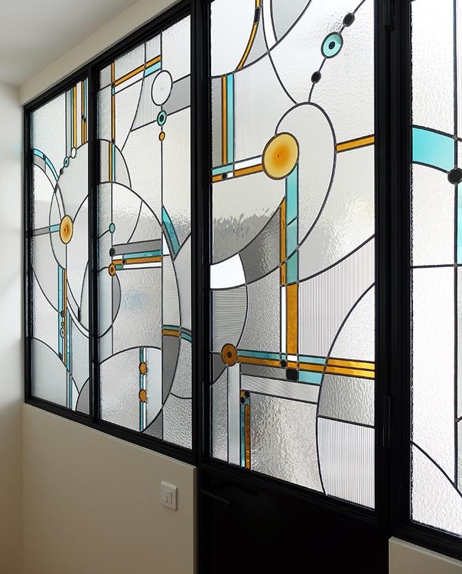 verri re d 39 atelier la couleur du verre. Black Bedroom Furniture Sets. Home Design Ideas